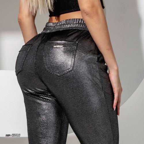 Calça jogger metalizada Pit Bull Jeans Ref 41786