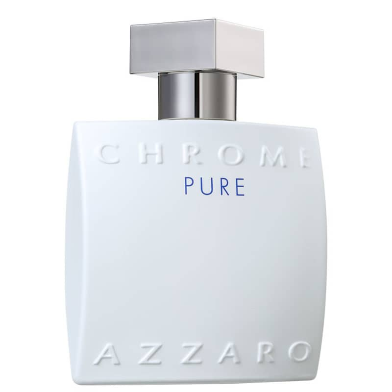 Chrome Pure Azzaro Eau de Toilette Perfume Masculino