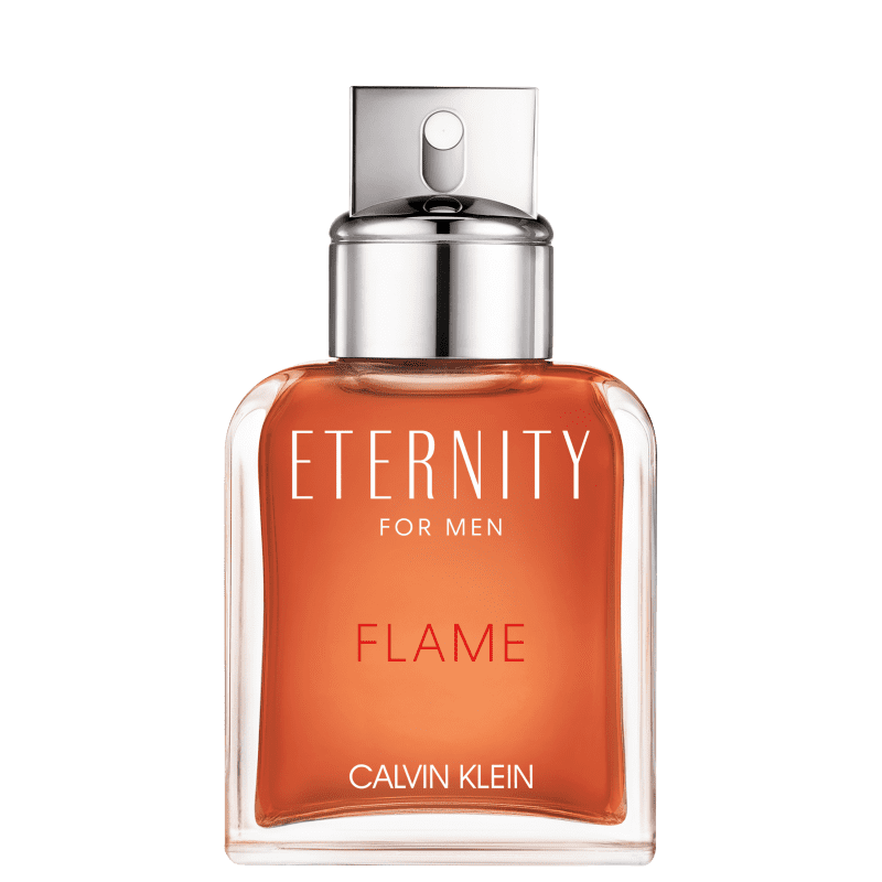 Eternity Flame for Men Calvin Klein Eau de Toilette - Perfume Masculino 50ml