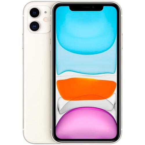 Iphone 11 Apple 11 64GB Tela De 6.1 Camera Dupla De  12mp Cor Branco