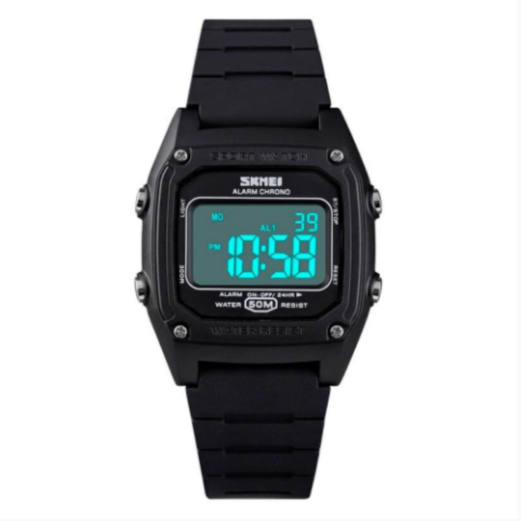 Relógio Infantil Skmei Menino Digital Cor Preto