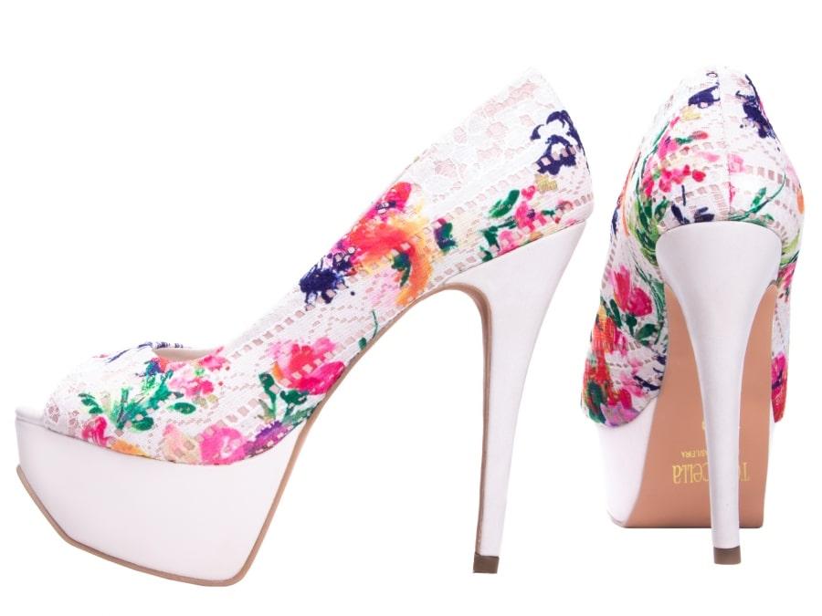 Sapato Meia Pata Em Tecido Napa Color