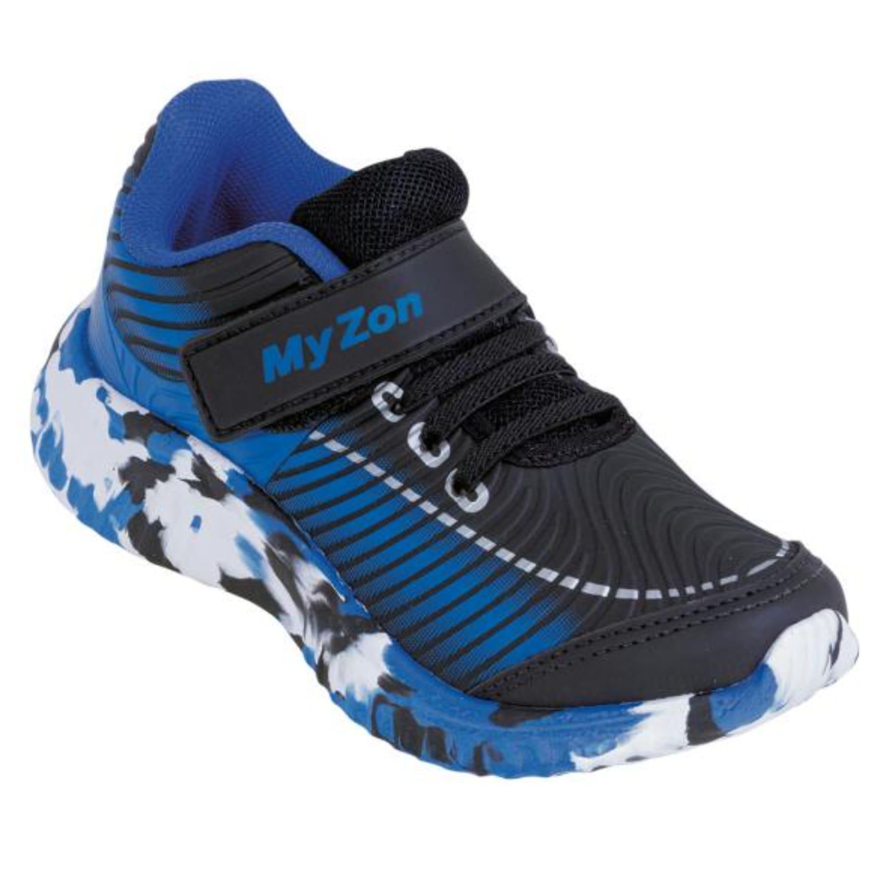 Tênis Infantil Com Velcro Azul