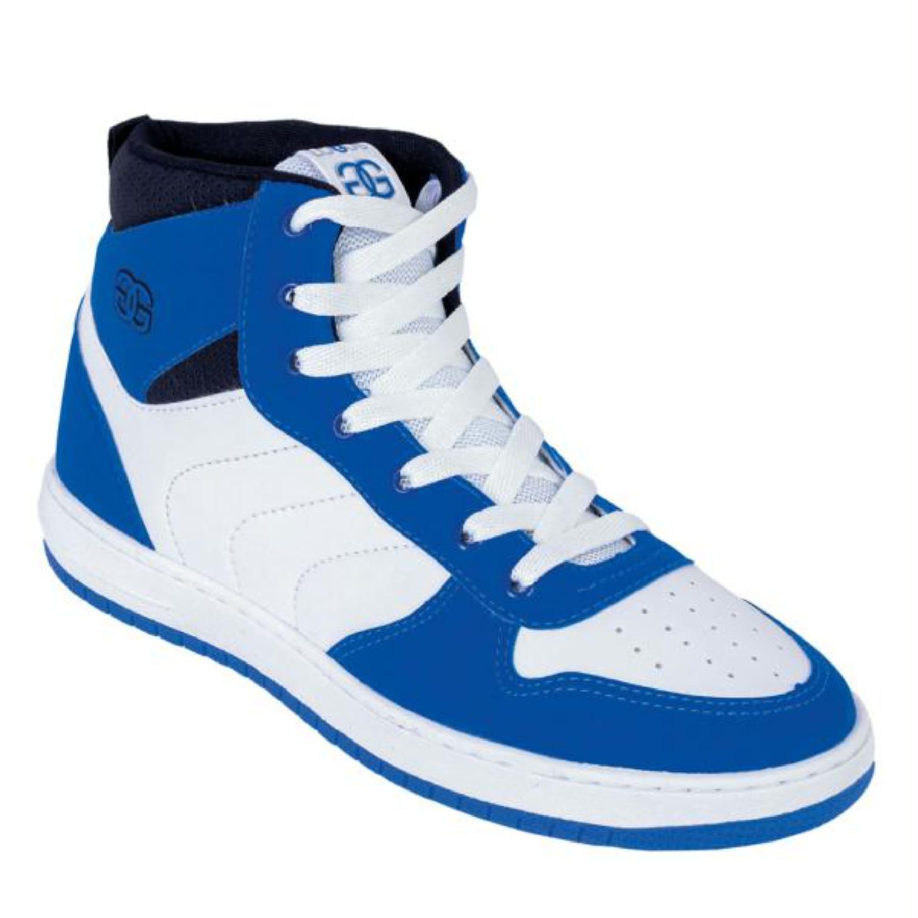 Tênis Masculino Street Cano Médio Azul