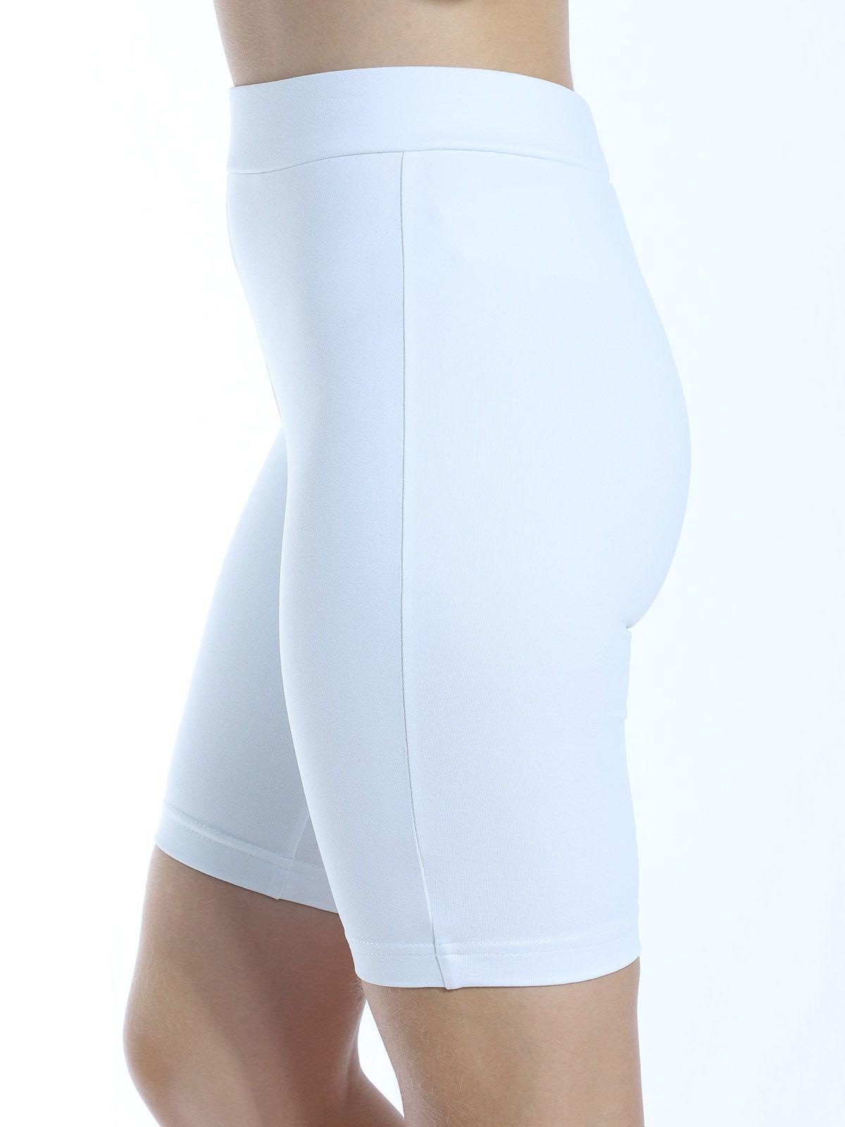 Bermuda Ciclista Fitness Anistia Branco