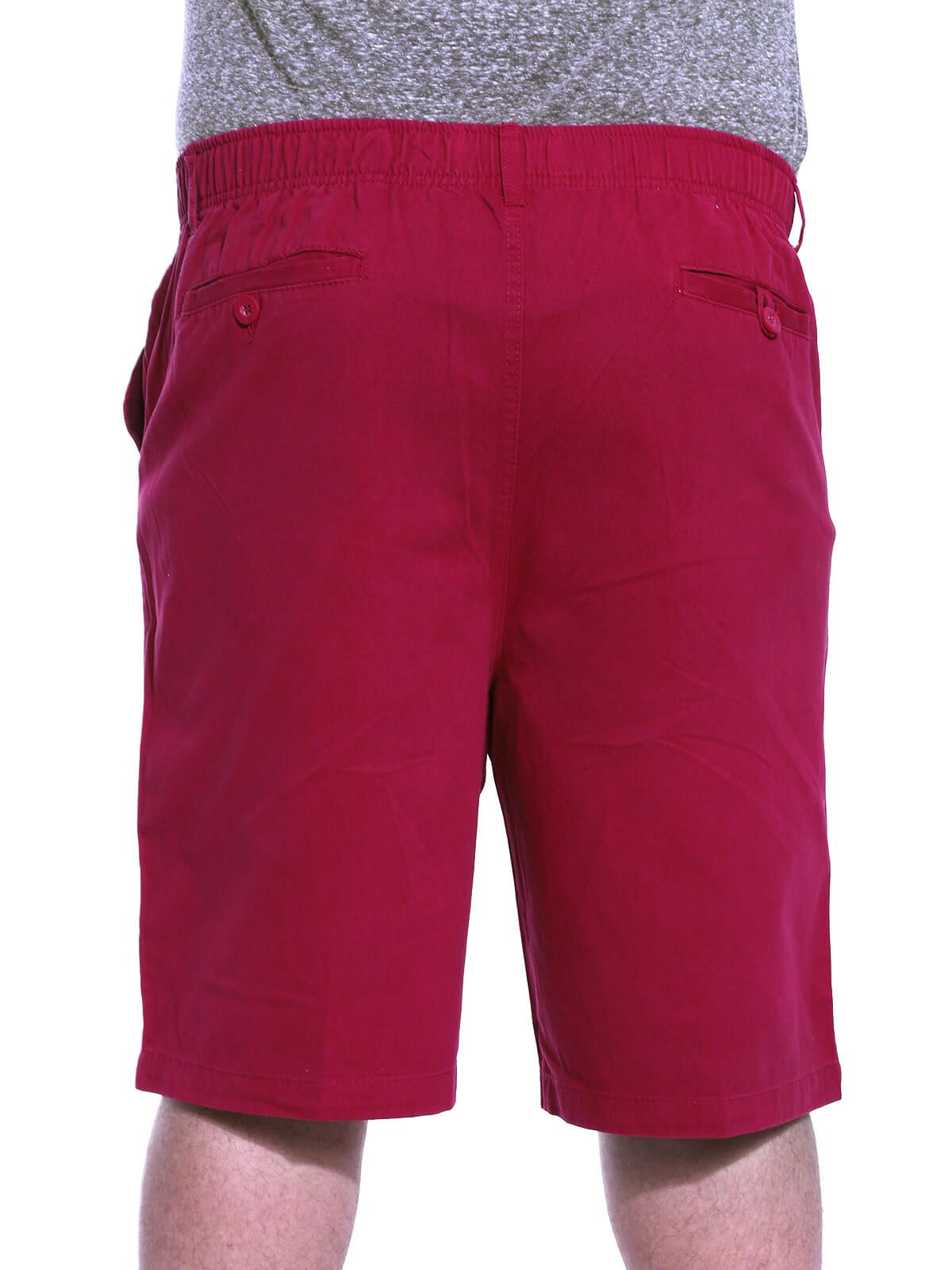 Bermuda Plus Size Anistia Sarja de Elástico Vermelho