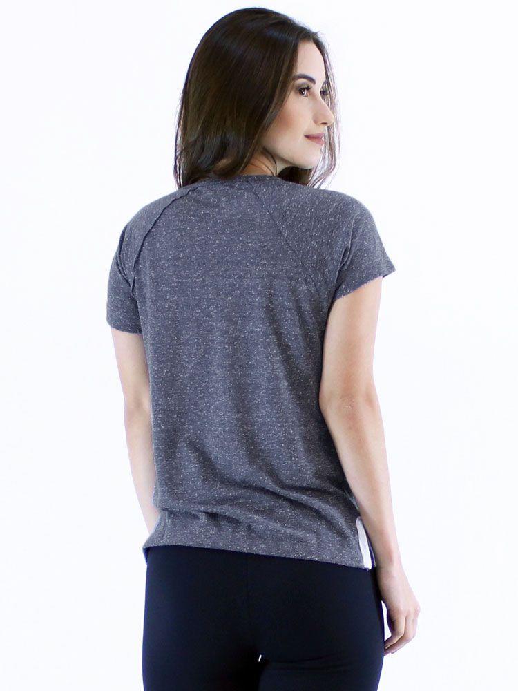 Blusa Anistia Longuete com Vista Marinho