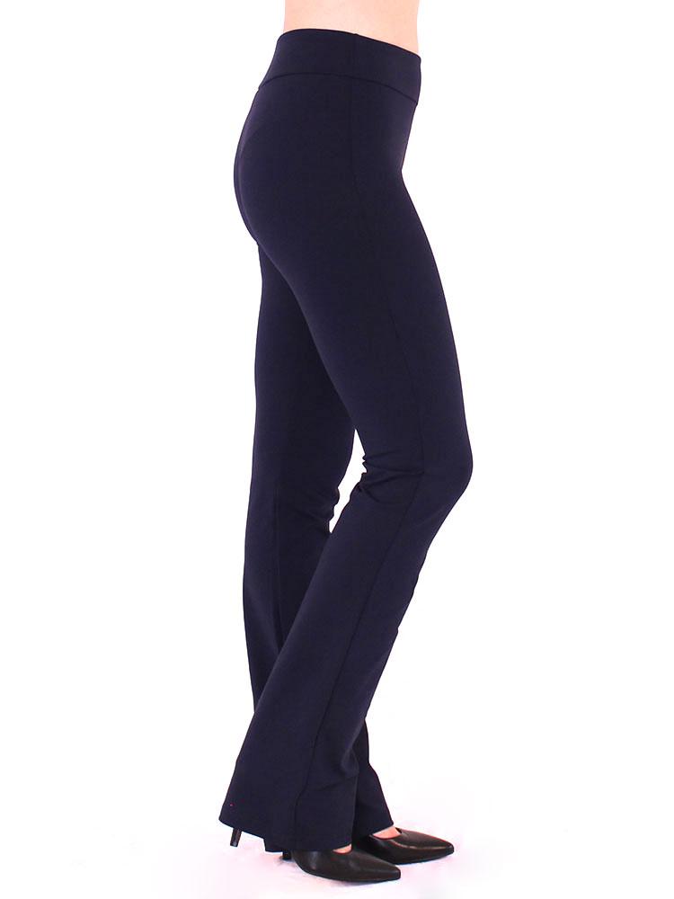 Calça Bailarina Feminina Fitness Confort Azul Marinho