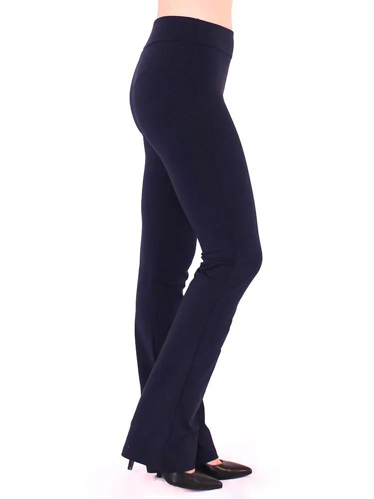 Calça Bailarina Legging Feminina Fitness Confort Azul Marinho