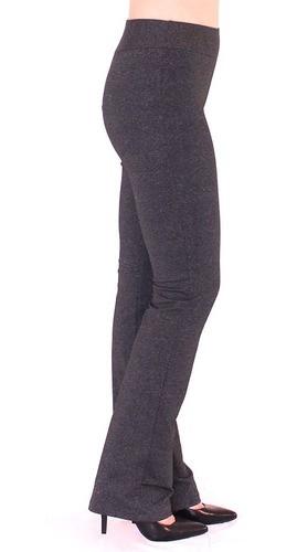 Calça Bailarina Legging Feminina Fitness Confort Mescla Escuro