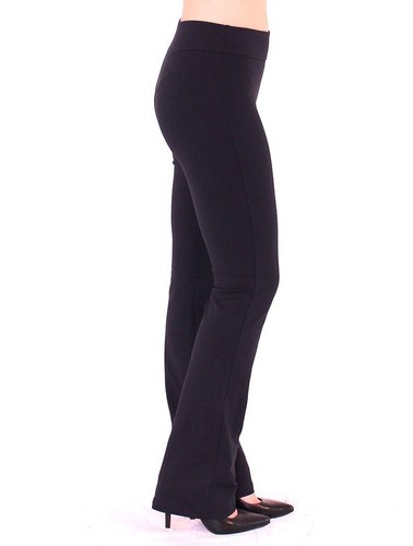Calça Bailarina Legging Feminina Fitness Confort  Preto