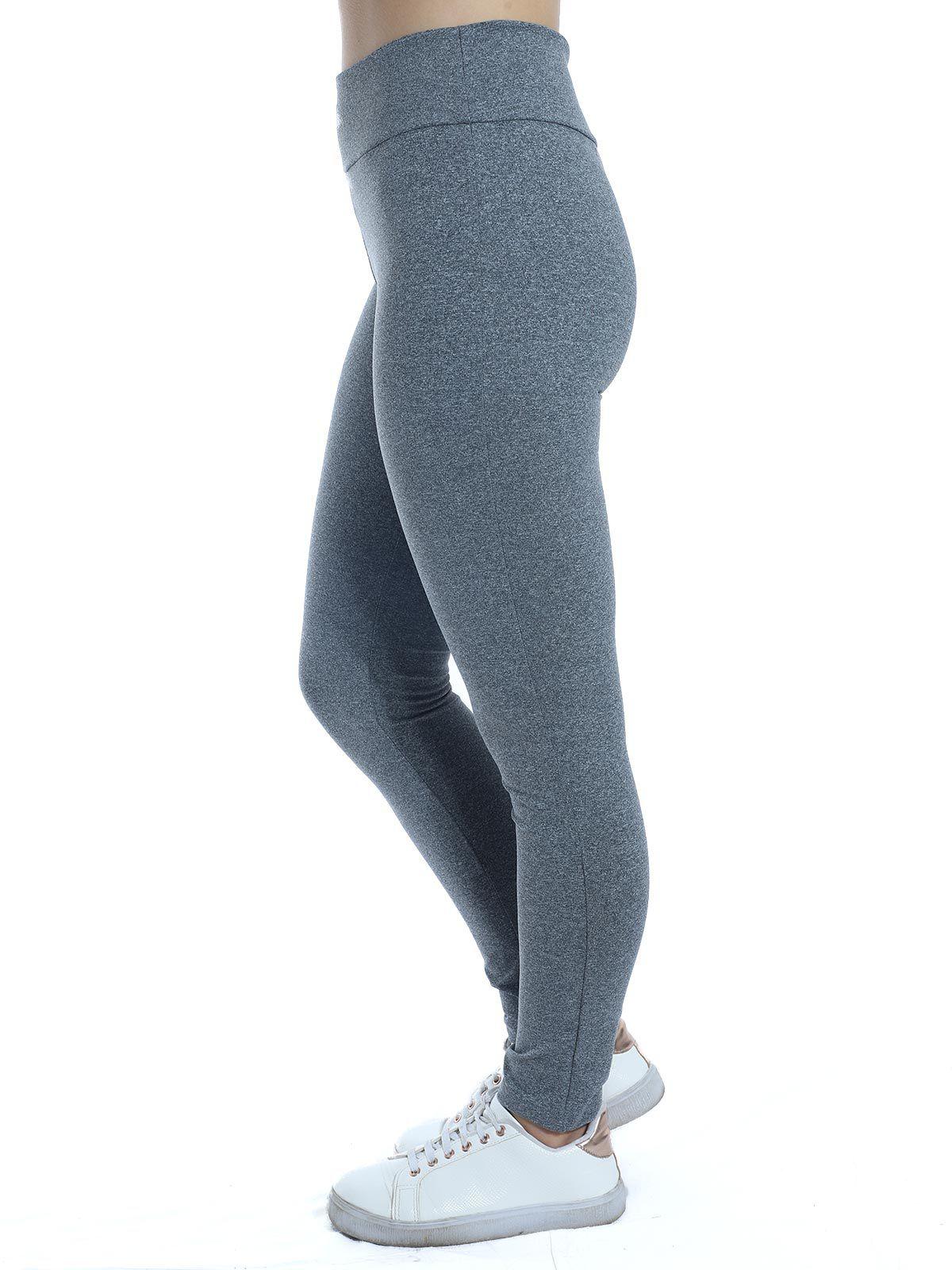 Calça Fusô Cós Anatômico Fitness Anistia Mescla