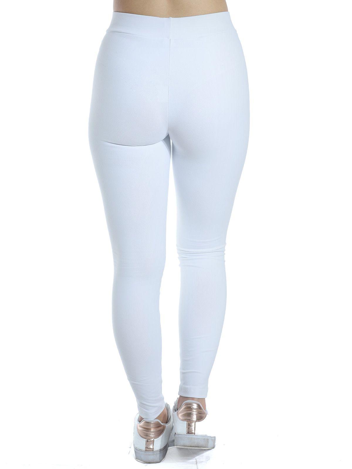 Calça Fusô Fitness Anistia Branco