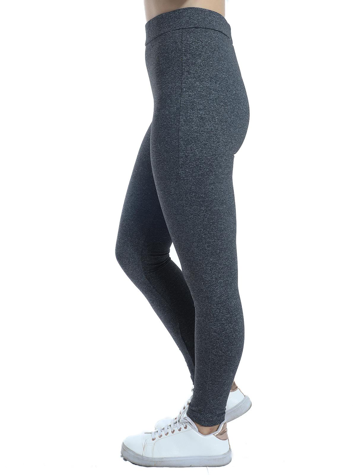 Calça Fusô Fitness Anistia Mescla Escuro