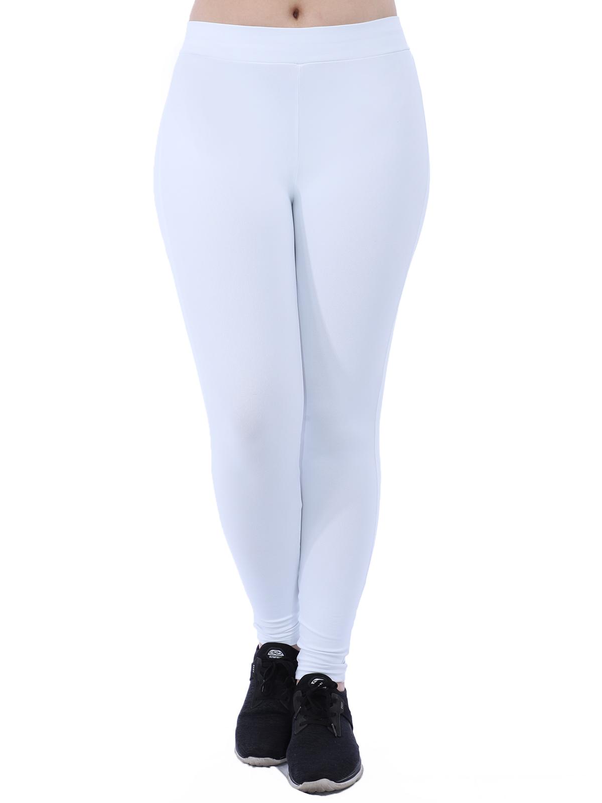 Calça Fusô Legging Fitness Feminina Academia Branco