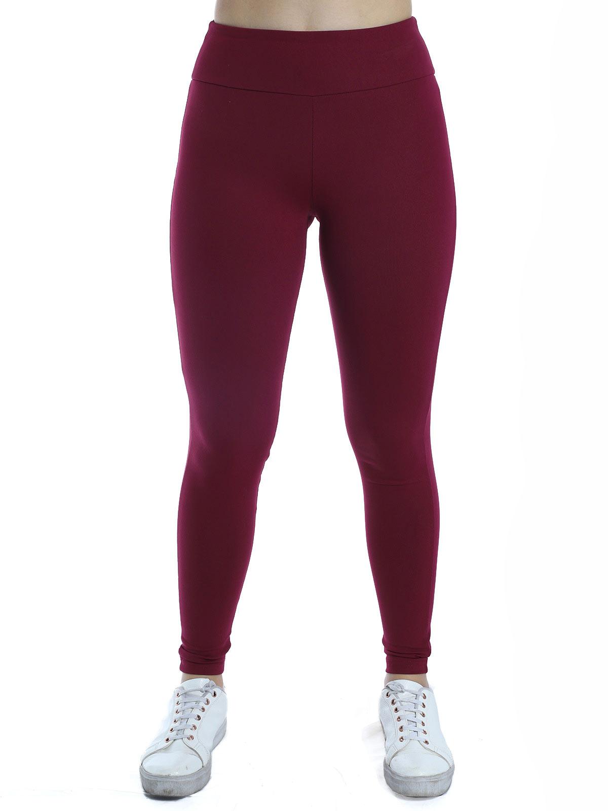 Calça Legging Feminina Cós Anatômico Fitness Academia Bordo