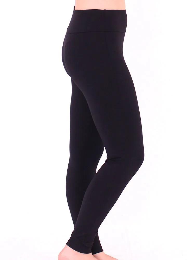 Calça Legging Feminina Cós Anatômico Fitness Academia Preto