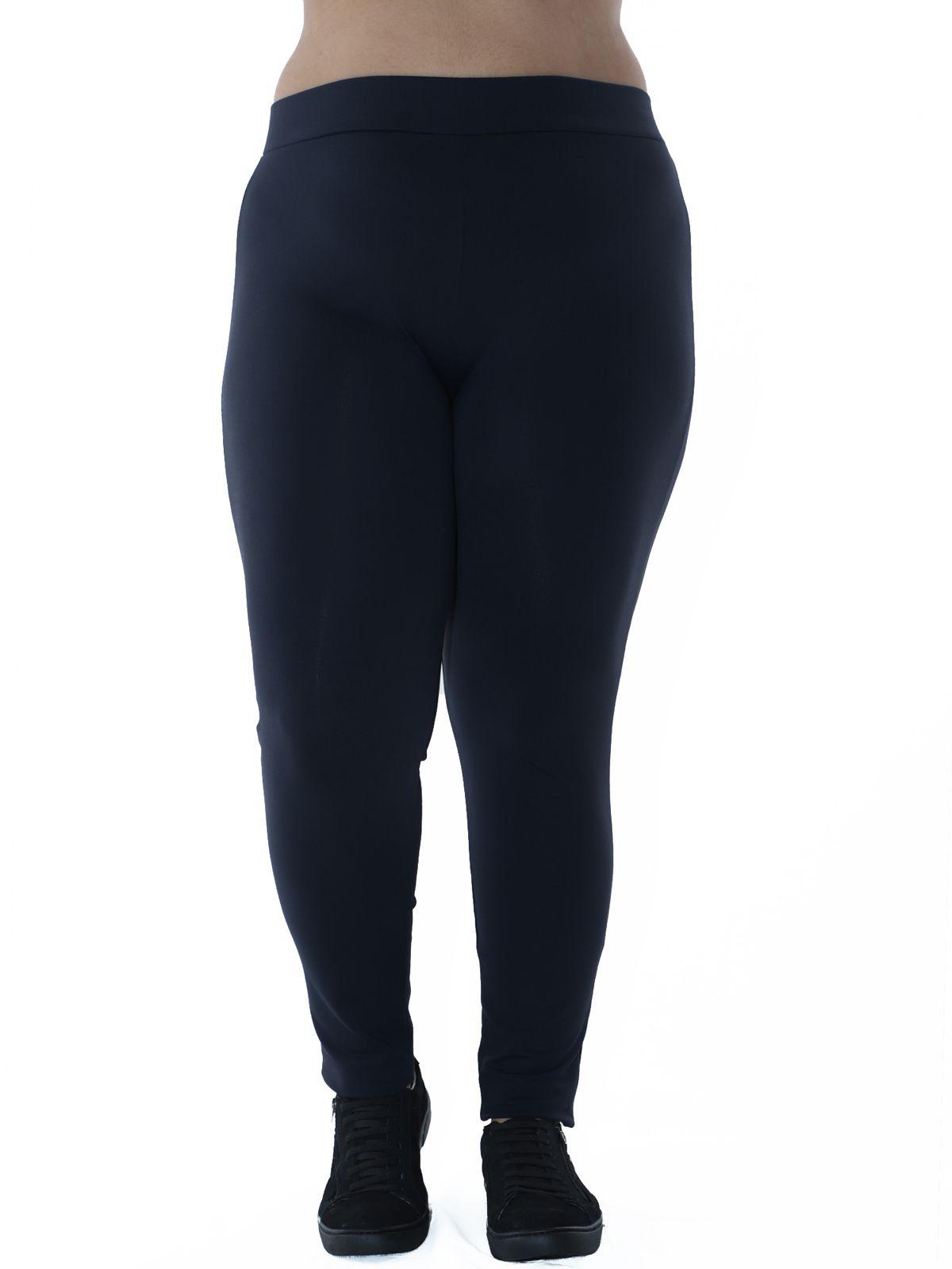Calça Legging Plus Size Fitness KTS Preto