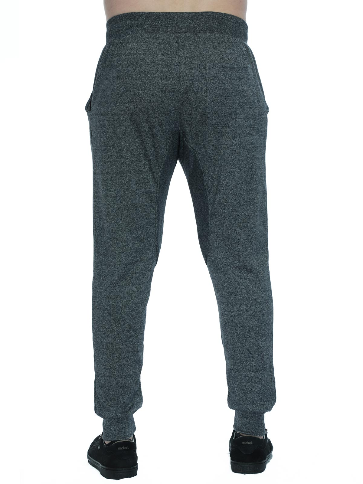Calça Masculina Jogger Suedine Anistia Mescla Escuro