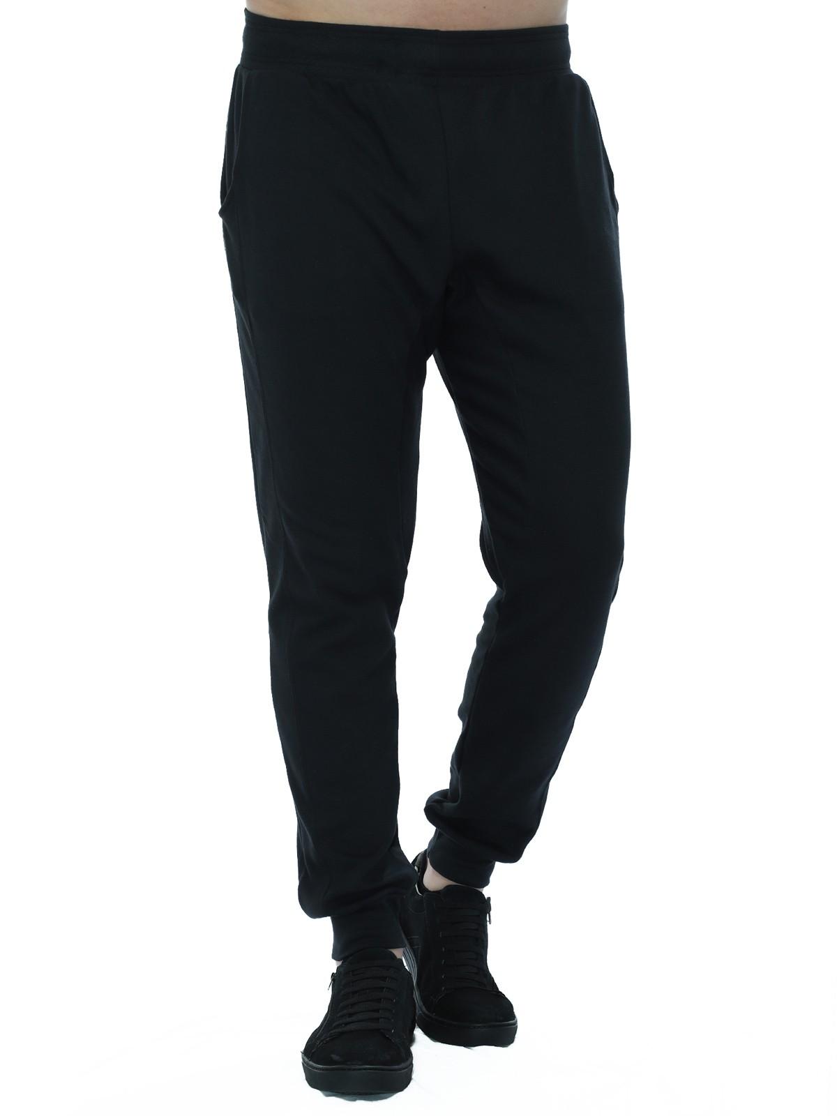 Calça Masculina Jogger Suedine Anistia Preta