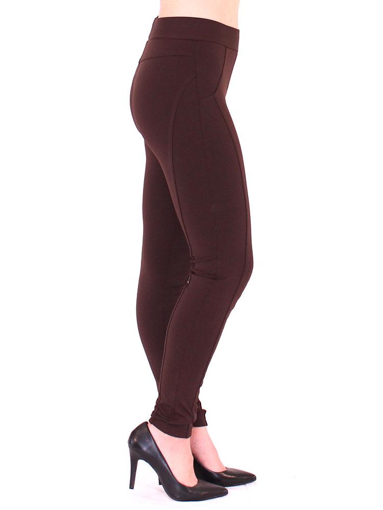 Calça Montaria Fitness Feminina Confortável Marrom