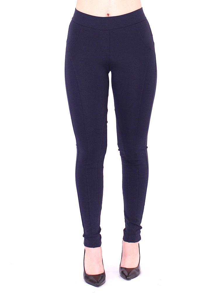 Calça Montaria Legging Feminina Fitness Body Fit Azul Marinho