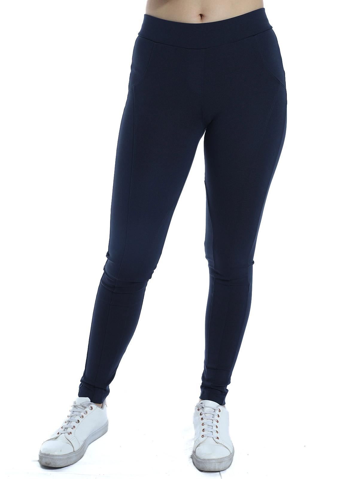 Calça Montaria Legging Feminina Fitness Body Fit Preta