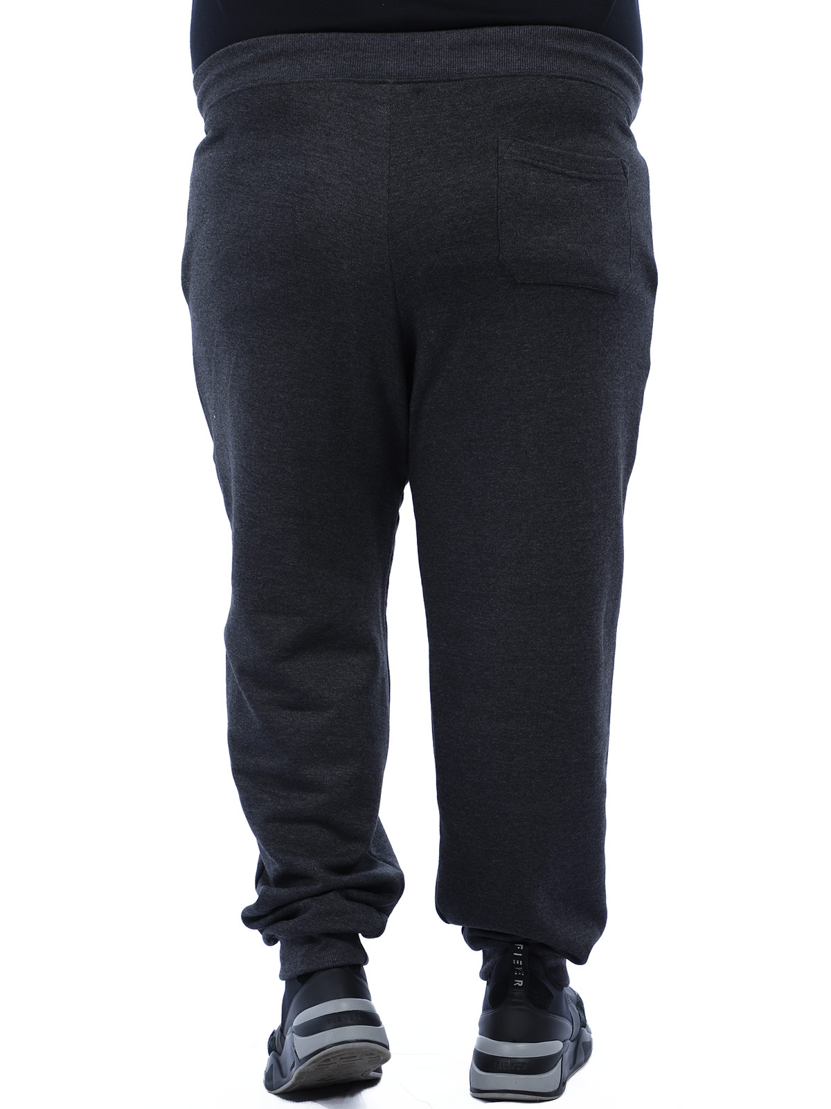 Calça Plus Size Masculino de Moletom Sem Felpa Anistia Mescla
