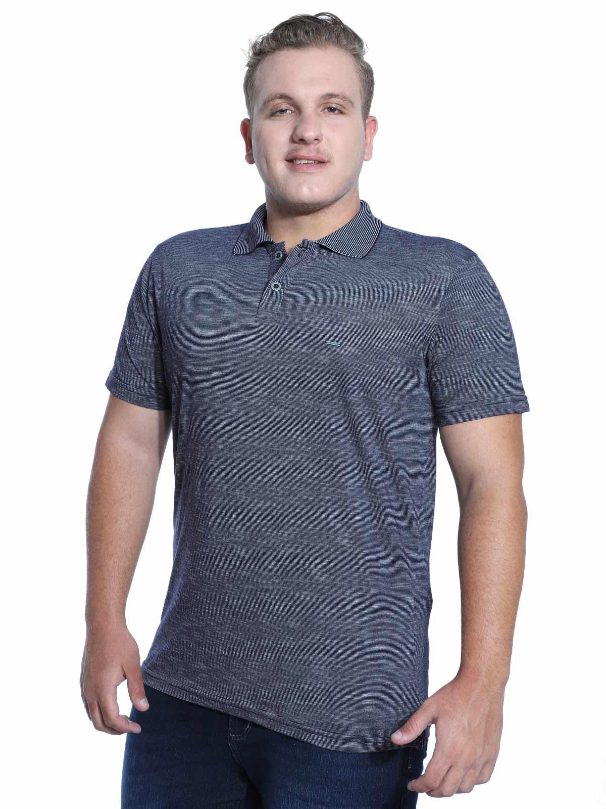 Camisa Polo Anistia Flame Marinho