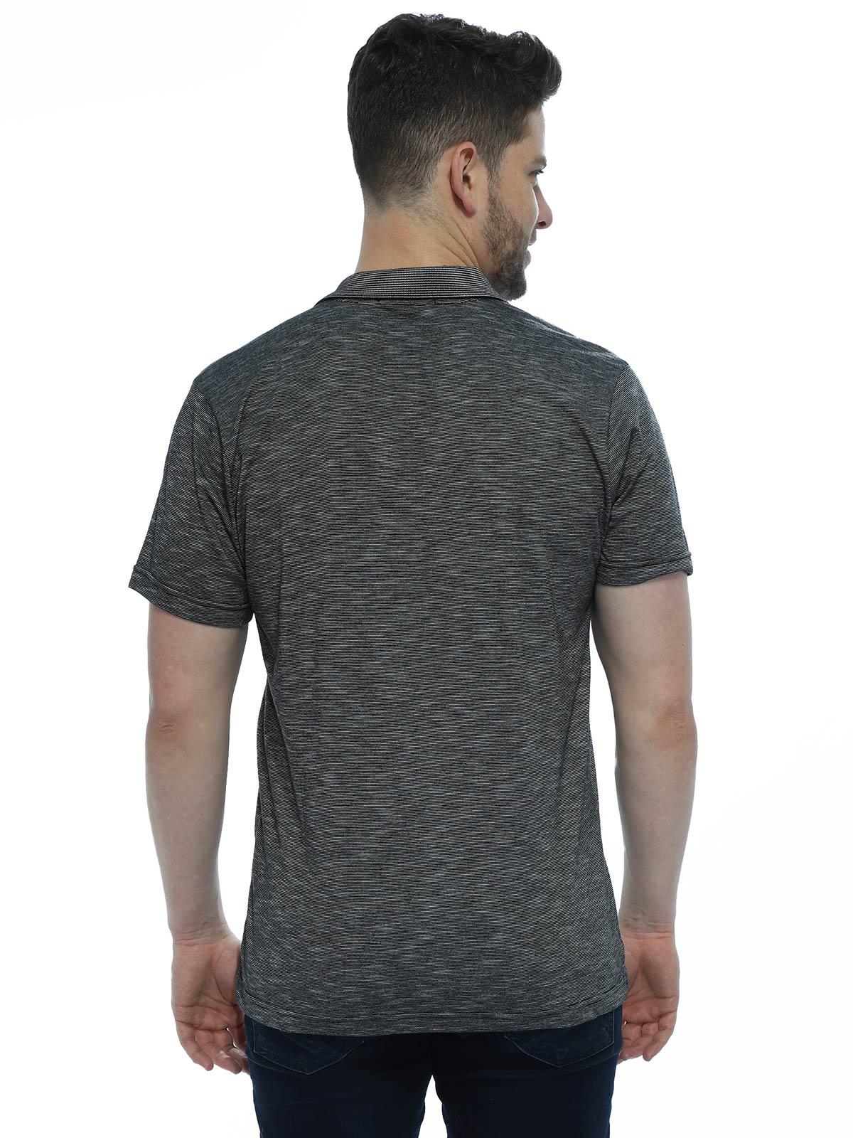 Camisa Polo Anistia Flame Preto
