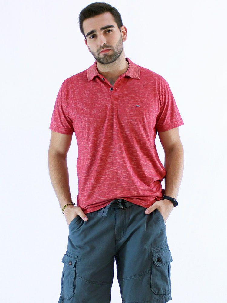 Camisa Polo Anistia Flame Vermelho