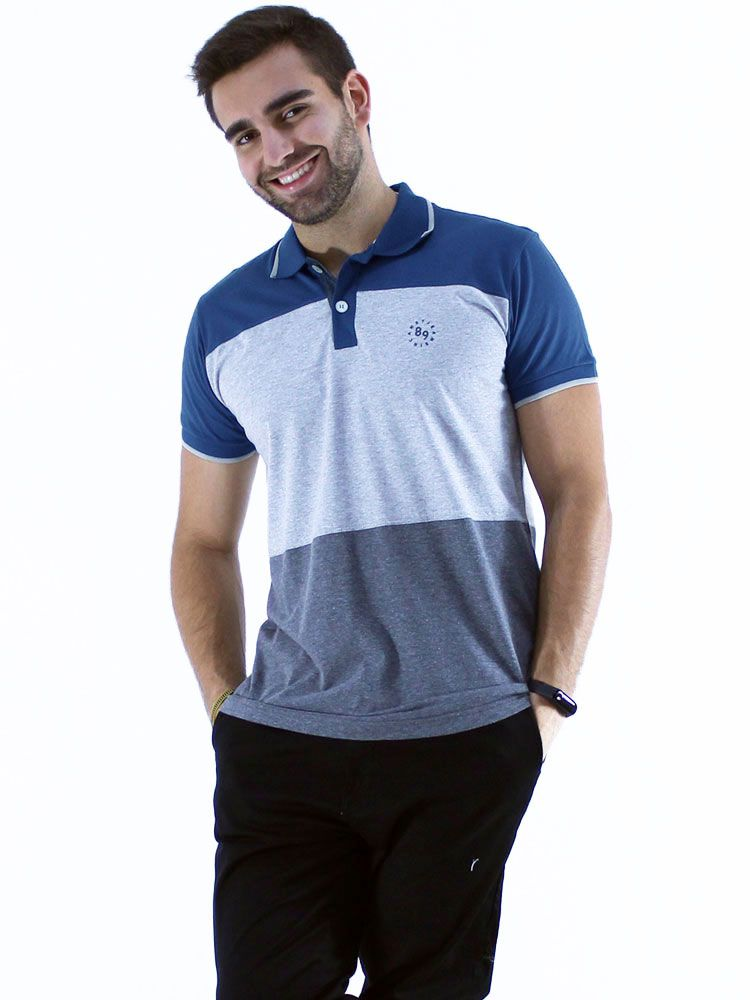 Camisa Polo Anistia Slim Fit Colors Jeans
