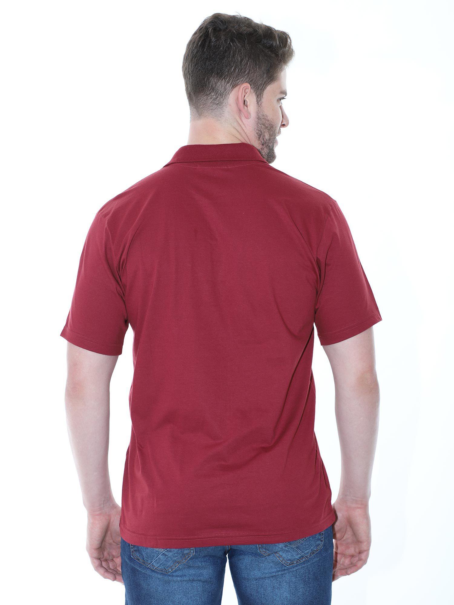 Camisa Polo com Bolso Básica Lisa Anistia Bordo