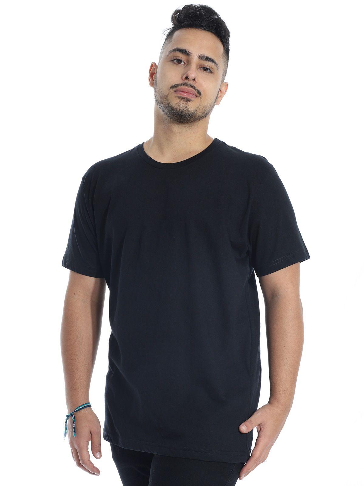 Camiseta Anistia Básica Lisa Preto