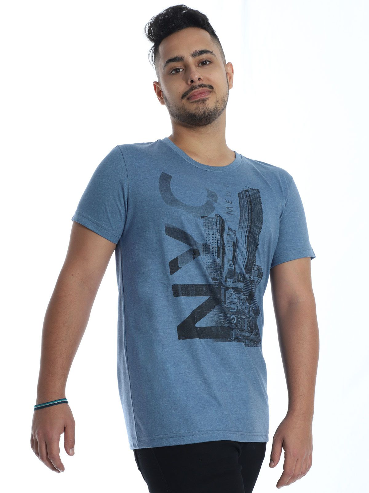 Camiseta Masculina Básica Anistia Stoned Jeans