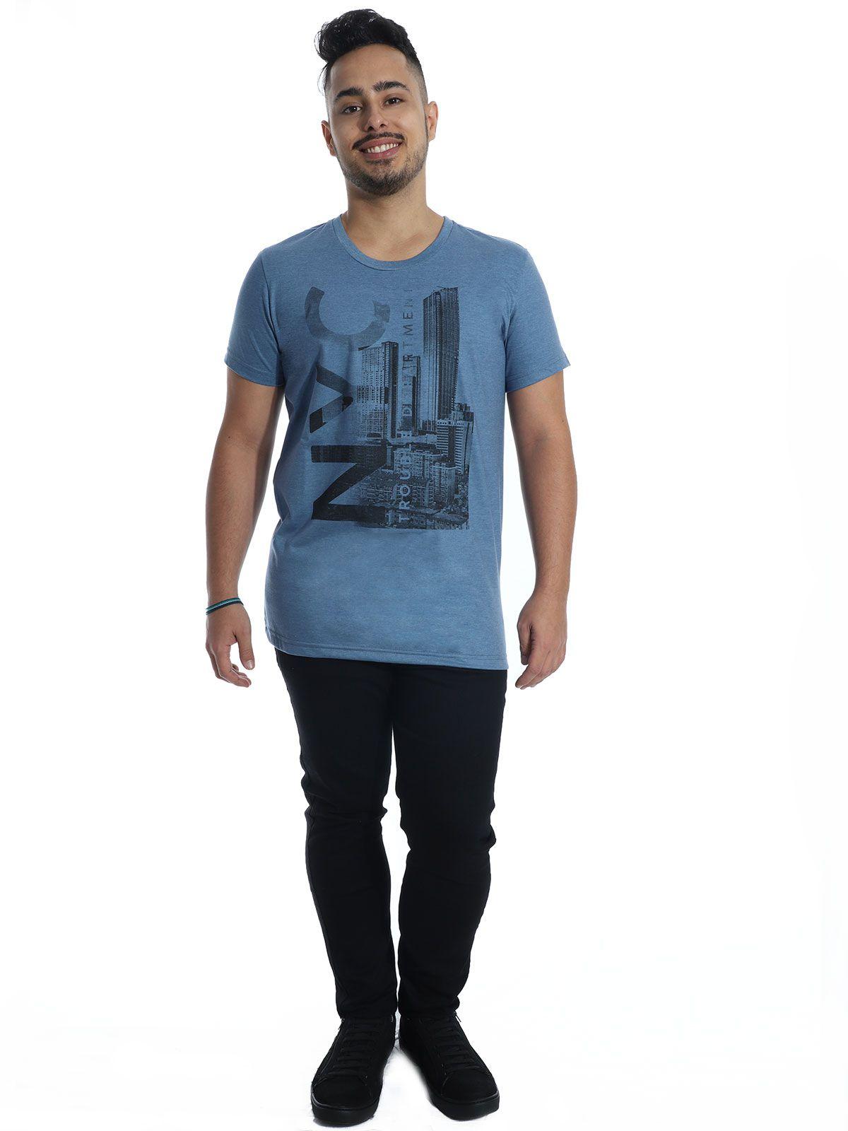 Camiseta Anistia Básica Stoned Jeans