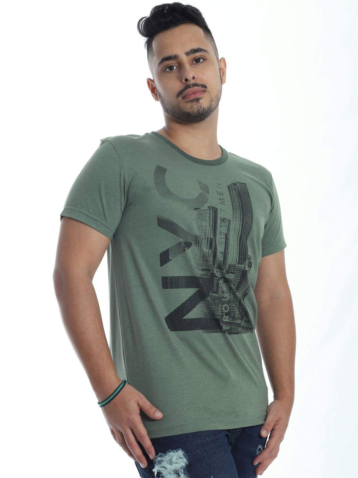 Camiseta Anistia Básica Stoned Militar