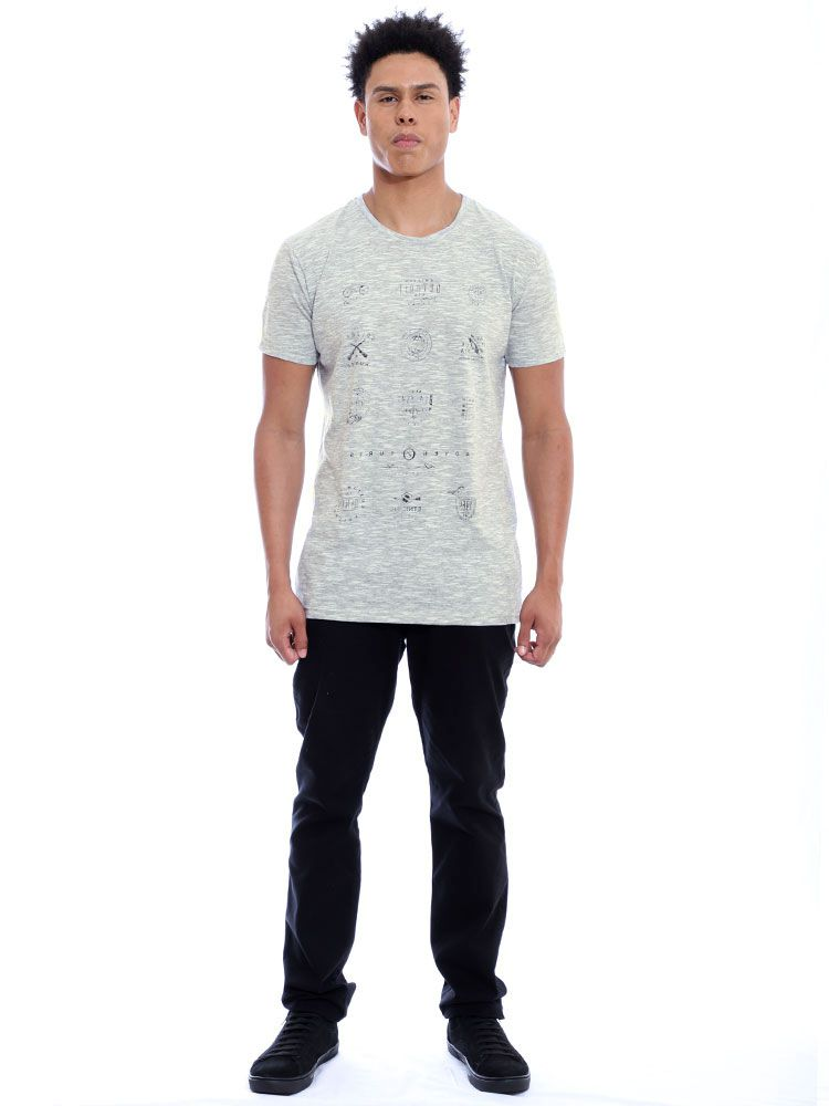 Camiseta Masculina Básica Tweed Brand Anistia Cru