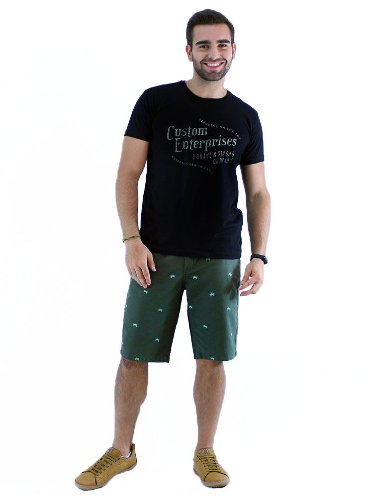 Camiseta Anistia Slim Fit Heaven Preto