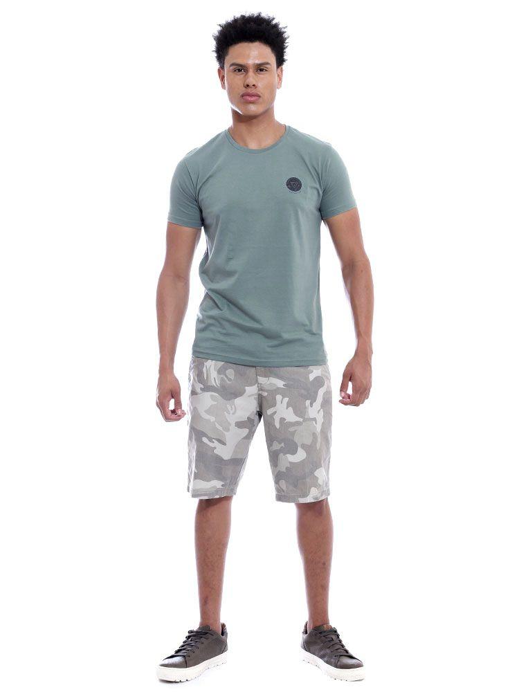 Camiseta Masculina Slim Fit Anistia Templeton Concreto