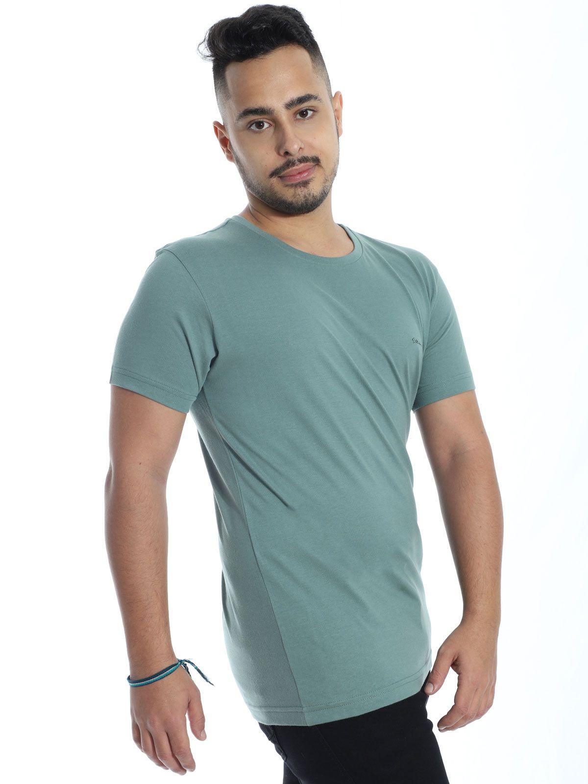 Camiseta Anistia Slim Fit Ultrabrand Concreto