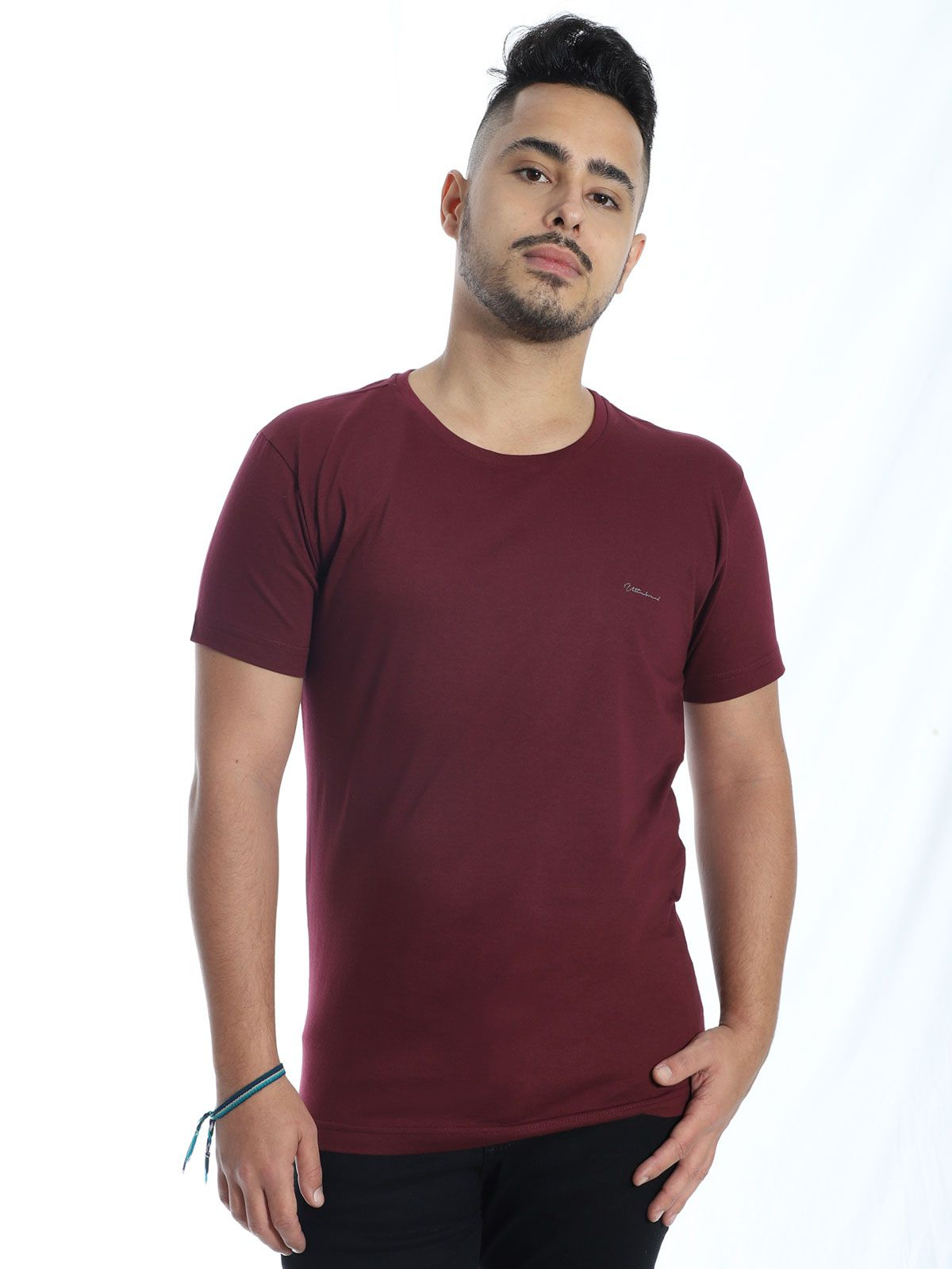 Camiseta Anistia Slim Fit Ultrabrand Vinho