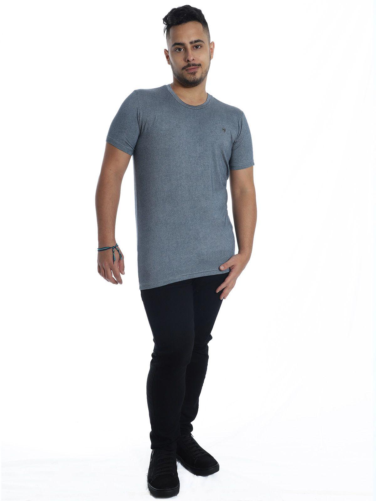 Camiseta Anistia Visco Slim Fit Jeans