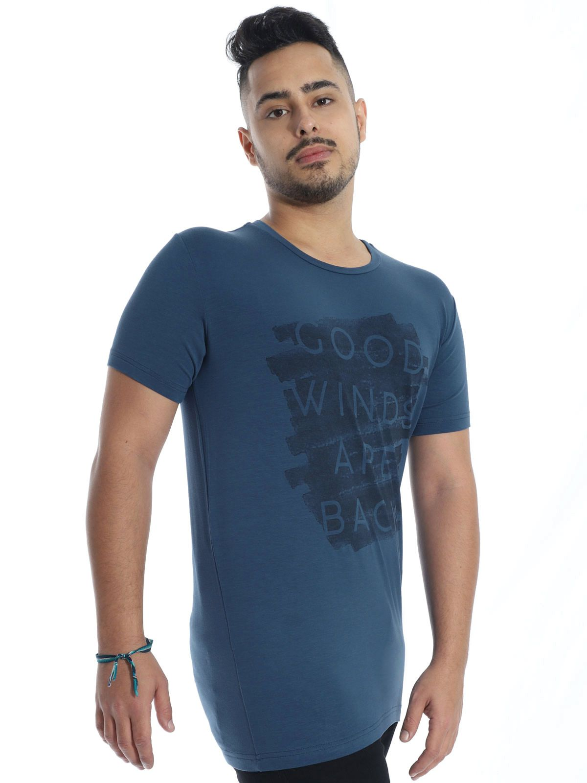 Camiseta Anistia Visco Slim Fit Winds Marinho
