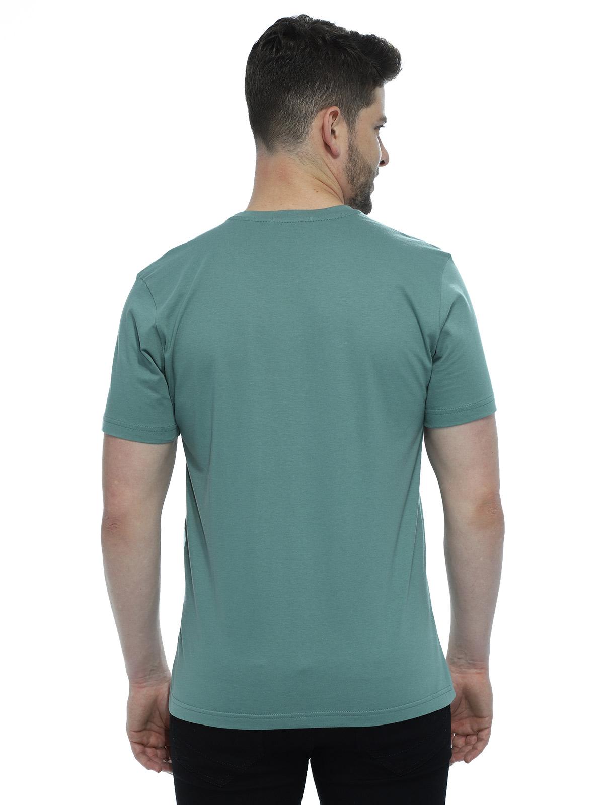 Camiseta Masculina Algodão Manga Curta Básica Lisa Concreto
