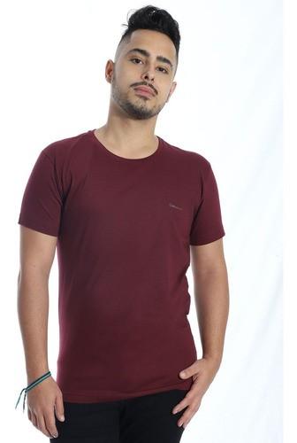 Camiseta Masculina Careca Fit Ultrabrand Vinho