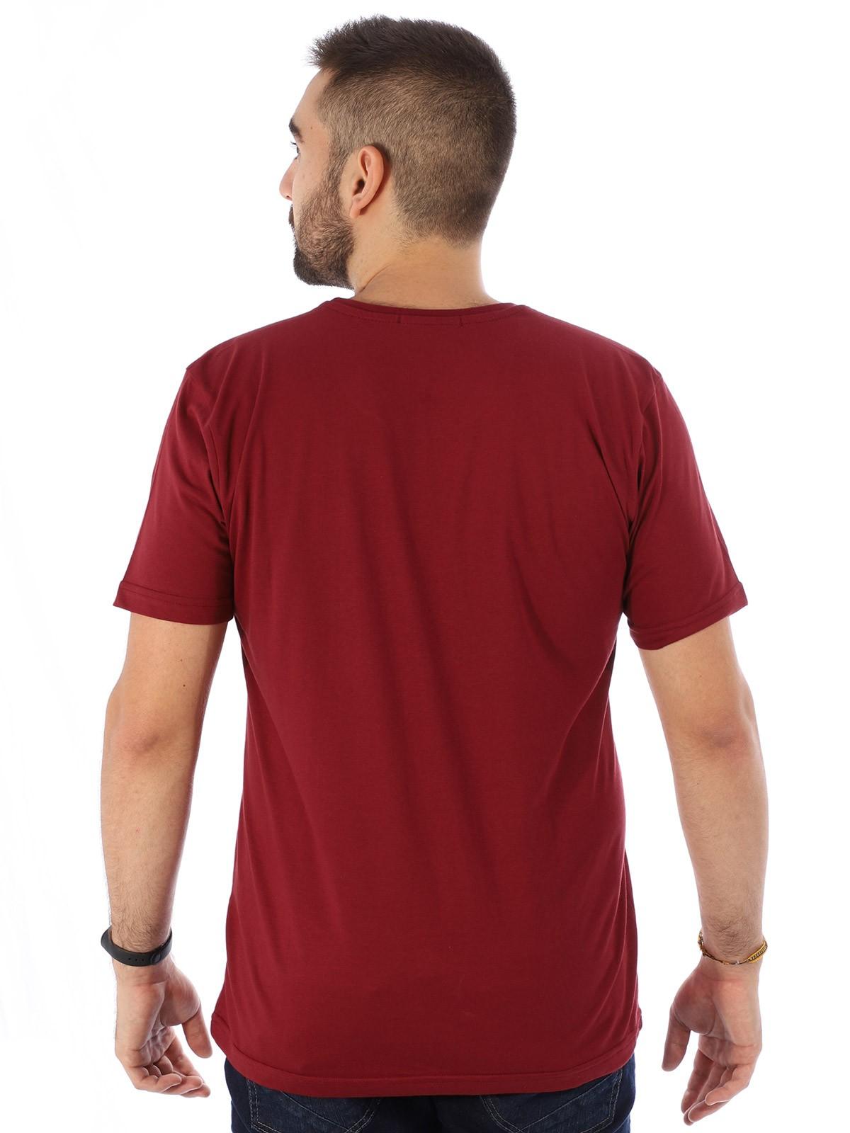 Camiseta Masculina Manga Curta Básica Abacaxi Bordo