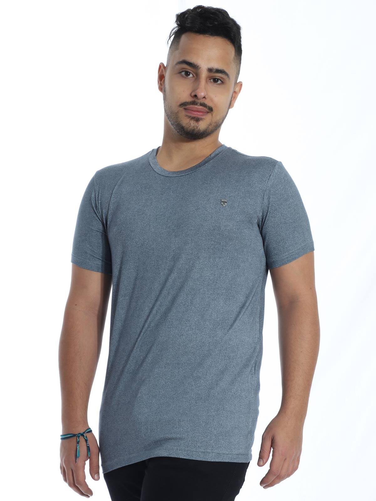 Camiseta Masculina Visco Slim Fit Anistia Jeans