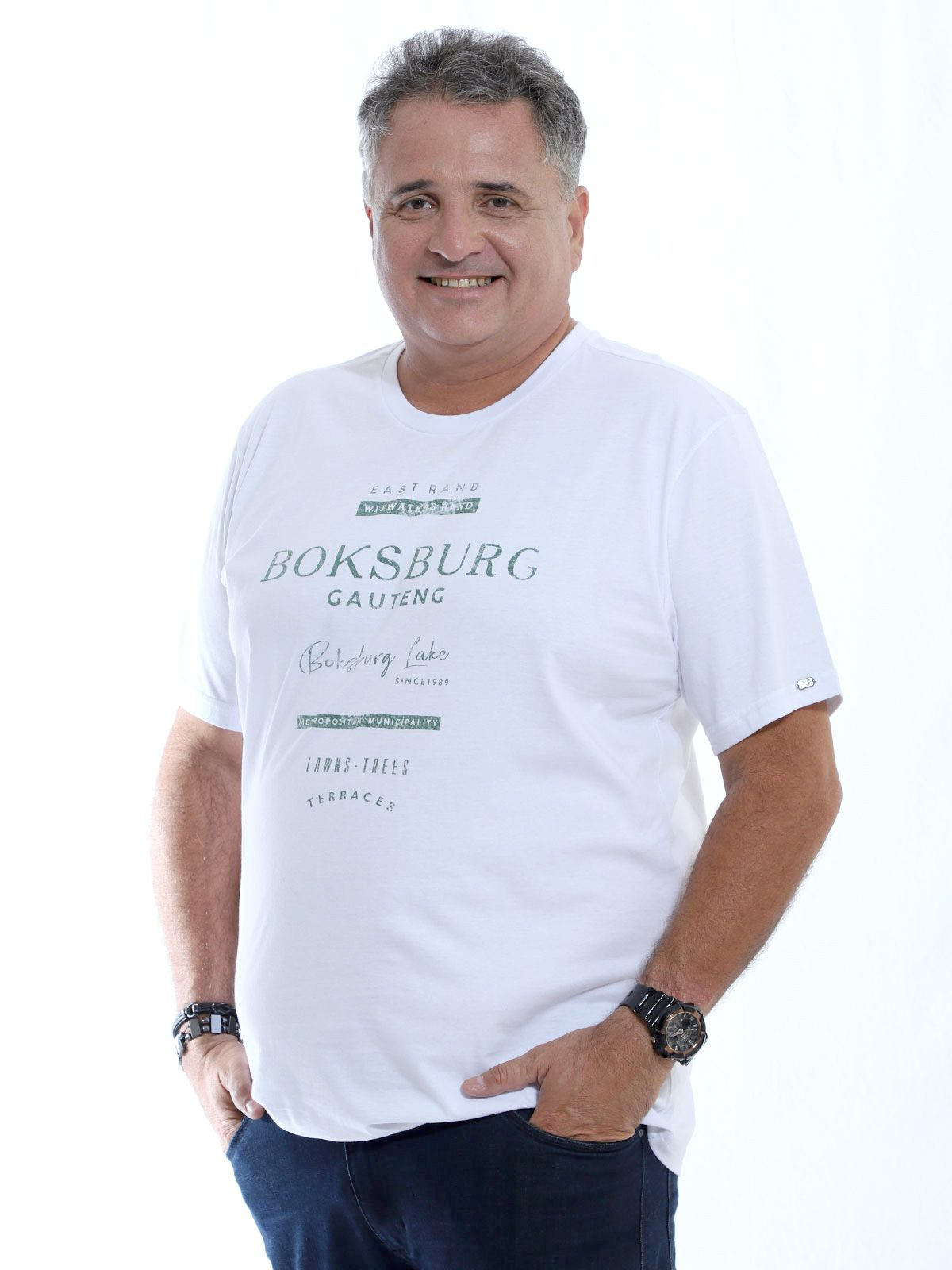 Camiseta Plus Size Anistia Branco