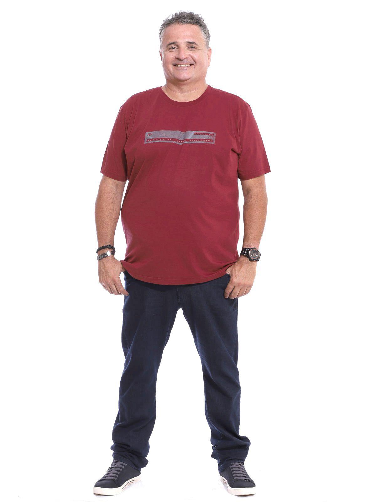 Camiseta Plus Size Anistia Front Bordo